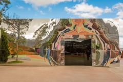 MONA Entrance, Hobart Tasmania Australia. (les.butcher) Tags: museumofoldandnewart art museum moorilla winery berriedale peninsula hobart tasmania australia mona davidwalshcollection