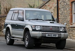M415 VRB (Nivek.Old.Gold) Tags: 1993 mitsubishi pajero lwb intercooler turbo 2800 exceed superselect4wheeldrive