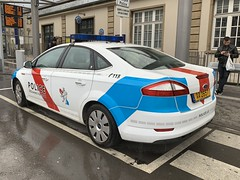 Luxembourg Police Vehicle - Ford Mondeo - Gare Centrale - Luxembourg City - March 17, 2019 (firehouse.ie) Tags: aa2657 coches coche cops cop cars car policia polizei fordmondeo fords luxembourg police mondeo ford
