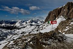 Borderline (HorvathZsolt73) Tags: border hill austria italy alpok alpen határ határvidék hegyek hó snow landscape sky panorama mountain