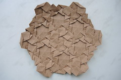 DSCN9177 (Arseni Ko) Tags: paper origami pattern geometry symmetry tesselation design