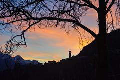 Tramonto in val Venosta (giorgiorodano46) Tags: ciardes tschars valvenosta vinschgau sudtirolo altoadige italy marzo2019 march 2019 tramonto