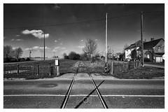 Back to no future IX (CrËOS Photographie) Tags: candas somme france rail passageniveau voieferrée railway gare station