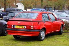 1991 Alfa Romeo 75 18 IE (Dirk A.) Tags: zl70pb onk 1991 alfa romeo 75 18 ie sidecode4
