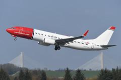 LN-NHB Boeing B737-8JP EGPH 11-04-19 (MarkP51) Tags: lnnhb boeing b7378jp b737 norwegianairshuttle norwegian dy nax edinburgh airport edi egph scotland aviation airliner aircraft airplane plane image markp51 sunshine sunny planeporn nikon d500 nikond500 nikonafp70300fx
