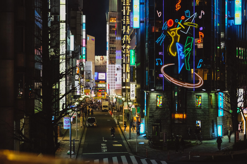 The World's Best Photos of neon and shinjuku - Flickr Hive Mind