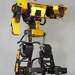 2足歩行型ロボットの写真