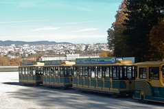 The Schonbrunn Train (mikecogh) Tags: vienna schonbrunn palace gardens grounds train tourism transport