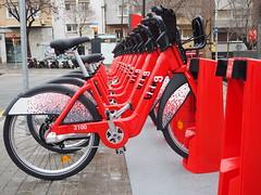 Nou Bicing (tgrauros) Tags: barcelona bicing catalunya bicicletes bikes bicicletas biciclettes biciurbana bicyclesharingsystem serveidebicicletespúbliques