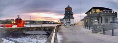 Aberdeen Harbour Scotland - 14th January 2019 (DanoAberdeen) Tags: timesgoneby aged landscape scenery panoramic ancient museum factual facts scotland'shistory history aberdeenhistory harbourmaster architect johnsmeaton seacroftmarineconsultants tower navigations seacroft riverdee capstan iphone8plus iphone architecture building roundhouse aberdeencity uk gb abdn abz offshore psv shipping ship esvagtconnector visitscotland visitaberdeen scotland abercrombiejetty silverdarlingrestaurant water aberdeenscotland aberdeenharbour fittie footdee northpier panorama aberdeen 2019 danoaberdeen marineoperationscentre