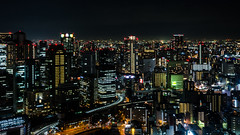Osaka Skyline (beeldmark) Tags: nacht stad osaka japan zomervakantie city kansai night nihon nippon summerholiday ōsaka 大阪 日本 関西 pentax k5 beeldmark smcpentaxda1224mmf4edalif smcpda1224mmf40edalif osakastrut