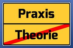 Schild Praxis / Theorie (Tim Reckmann   a59.de) Tags: ausbildung berufsschule denken fahrschule machen planen praxis schule theorie umsetzung