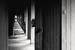 (halagabor) Tags: bnw blackandwhite monochrome nikon nikkor d610 silhouette shape row line building architect architecture man street streetphoto streetphotography budapest békásmegyer hungary hungarian manualfocus