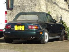 1992 Mazda Eunos Roadster (MX-5) (Neil's classics) Tags: vehicle 1992 mazda eunos roadster mx5