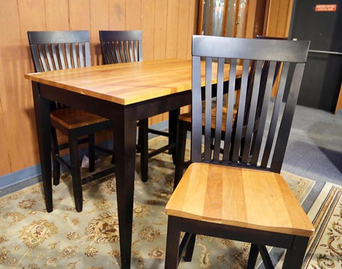 Gat Creek Bar Height Table with 4 Bar Stools ($504.00)