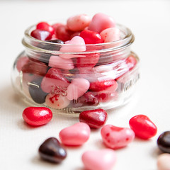Jar of Hearts 045/365 (Watermarq Design) Tags: songoftheday 365project candy sweet hearts valentinesday