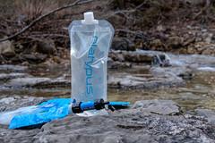 Filtering Water (Gary Allman) Tags: fujifilmxe3 herculesgladeswilderness waterfilter gsa backpackingjanuary262019 sawyermini platypus gear backpacking