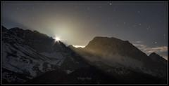 Moon lights (Diego Rai) Tags: mountains ubiñas león asturias moon luna noche night lights stars estrellas
