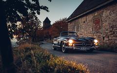 300 SL (Alex Penfold) Tags: black 300sl supercars super car classic classics cars merc benz roadster 300 sl red interior alex penfold 2018