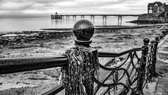Clevedon (zolaczakl) Tags: 2018 clevedonpier clevedon pier seaside seafront seaweed mono monochrome blackandwhite bw photographybyjeremyfennell nikonafsnikkor24120mmf4gedvrlens jeremyfennellphotography uk england nikond800