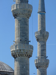 Istanbul (Eunus El Ya) Tags: turkey istanbul mosque blue sultan ahmed ottoman empire islam turkish minaret azan tower muezzin