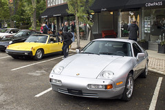 Porschi (Hertj94 Photography) Tags: porsche 928 914 fuelfed coffee classics september 2018 canon t3 downtown winnetka