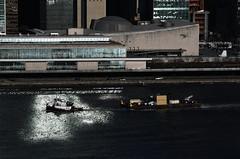 Meridian (Rob Bellinger) Tags: tug tugboat barge river smithmarine meridian eastriver manhattan nyc newyorkcity un goldenhour nikkor70300
