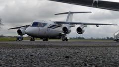 G-OFOM (Al Henderson) Tags: gofom bae 146 146100 formula one cranfield egtc bedfordshire aviation planes