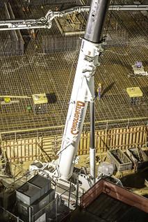 Texas Tower Mat Pour Construction Detail