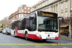 Bus Eireann, Mercedes Citaro, MC316, O'Connell Street, Dublin, 04 March 2019 (Shamrock 105) Tags: dublin buseireann cork capwell mercedes citaro mercedescitaro mc316 oconnellstreetdublin