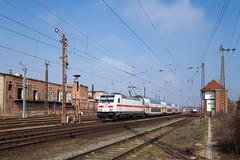 Köthen (Nils Wieske) Tags: sachsenanhalt köthen ic db bahn baureihe 146 ic2 intercity formsignal stellwerk eisenbahn bahnhof train railway railroad zug züge