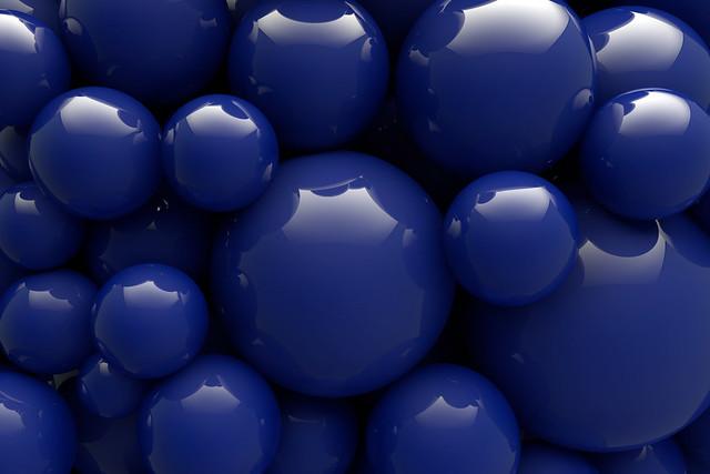 Обои шары, синий, гладкий, форма картинки на рабочий стол, фото скачать бесплатно
