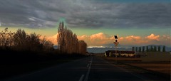 Provincia di Brescia (LorenzoBonelli 88) Tags: bresciaprovincia strade roads nuvole clouds tramonto sunset
