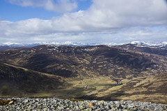Glens and Mountains (steve_whitmarsh) Tags: aberdeenshire scotland scottishhighlands highlands mountain hills glen snow summit cairngorms topic