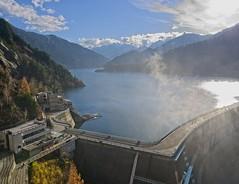 Kurobe Dam (r0yc3) Tags: kurobe dam kurobedaira kurobeko toyama japan northern alps autumn koyo
