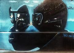 The way in your mind (bleudelo) Tags: bleudelo murale peinture paris streetart
