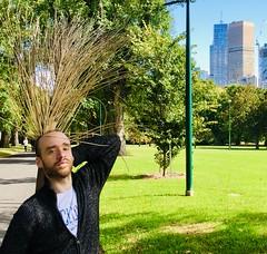 Leafy pose (jglsongs) Tags: melbourne australia fitzroygardens