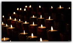 silent lights (lichtauf35) Tags: tranquillity lights dof inexplore candlelights 50favs availablelight lightroom derzeitaugenblickestehlen red lightslines 4000views lichtauf35