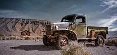 Jump In The Truck (emiliopasqualephotography) Tags: truck vehicle desert ghosttown vintage abandoned