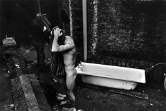 "Crisis at Christmas L32-36 (hoffman) Tags: homeless poverty homelessness shelter christmas xmas crisisatchristmas charity urban city cities london washing hygiene cleanliness bathing bath england english bw monochrome blackandwhite alone davidhoffman wwwhoffmanphotoscom uk gbr davidhoffmanphotolibrary socialissues reportage stockphotos""stock photostock photography"" stockphotographs""documentarywwwhoffmanphotoscom copyright"