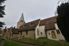 Compton Church (PLawston) Tags: uk britain england surrey north downs compton church st nicholas spire