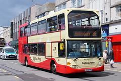 BRIGHTON & HOVE 916 YN56FFT IS SEEN IN BRIGHTON ON 19 MAY 2015 (47413PART2) Tags: yn56fft brightonhove omnidekka bus doubledecker brighton