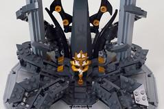 Atlan's-Throne15 (BrickElviN) Tags: lego moc dc aquaman castle ruin throne trident