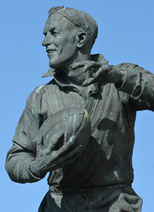 The One And Only (Feversham Media) Tags: barrowinfurness williehorne barrow chriskelly cumbria rugbyleague sculpture