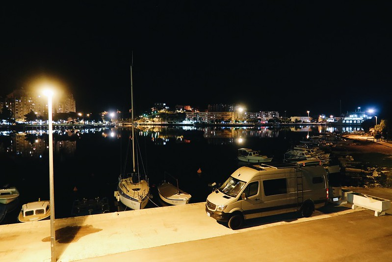Leaving Split for Dubrovnik, Croatia in our Sprinter camper van blog