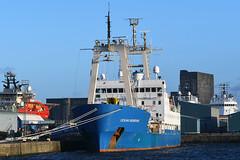 Ocean Observer - Leith - 13-01-19 (MarkP51) Tags: oceanobserver portofleith leith scotland researchvessel ship boat vessel nikonafp70300f4556fx sunshine sunny maritimephotography nikon d500