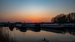 IMG_3503 (Al Henderson) Tags: northamptonshire rivernene whitemillsmarina boats earlsbarton evening spring sunset water