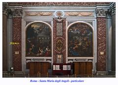 S. Maria degli Angeli (fr@nco ... 'ntraficatu friscu! (=indaffarato)) Tags: italia italy lazio roma rome chiesa basilica altare scorcio particolare
