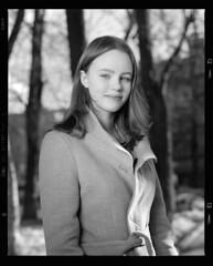 Алина (igorkondukov) Tags: портрет девушка пленка portrait people film filmphoto mamiyarz67 monochrome mediumformat mamyia