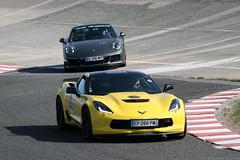Chevrolet Corvette C7 Z06 | Porsche 991.2 (Clément Tainturier) Tags: lesgha 2018 les grandes heures de lautomobile circuit autodrome linas montlhéry chevrolet corvette c7 z06 porsche 911 9912
